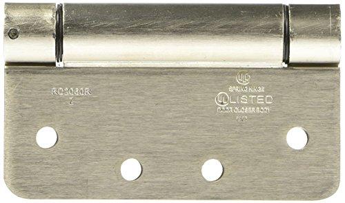 NATIONAL MFGSPECTRUM BRANDS HHI N350-868 Spring Door Hinge 4-Inch Satin Nickel