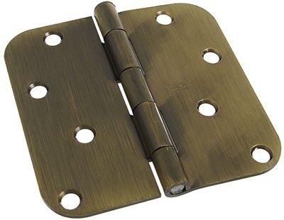 NATIONAL MFGSPECTRUM BRANDS HHI N830-171 Pin Door Hinge 4-Inch Antique Brass