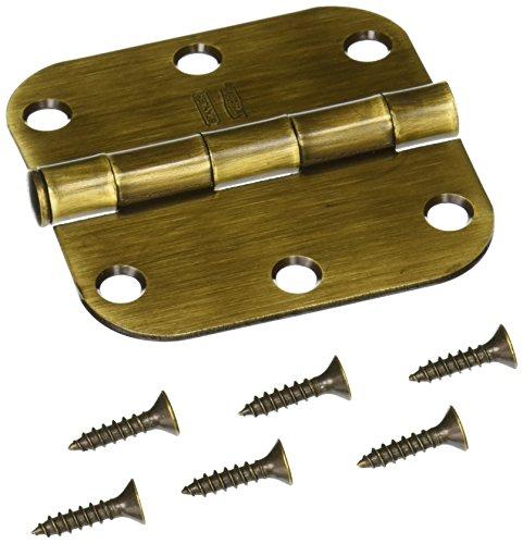 NATIONAL MFGSPECTRUM BRANDS HHI N830-172 Pin Door Hinge 3-Inch Antique Brass