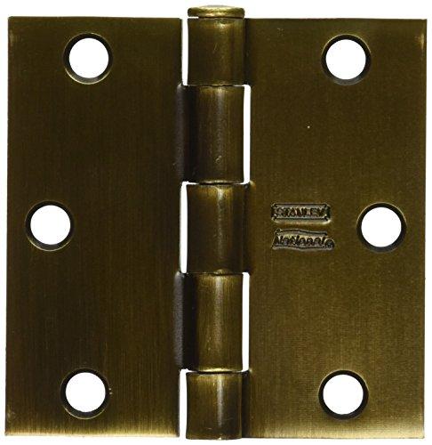 NATIONAL MFGSPECTRUM BRANDS HHI N830-178 Door Hinge 3-Inch Antique Brass