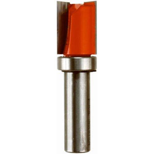 Freud 50-116 Top Bearing Flush Trim Router Bit 34 Diameter by 1 Carbide Cutting Length 12 Shank