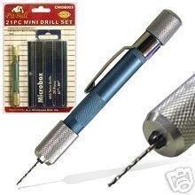 Pit Bull CHIDB003 Mini Drill Bit Set Tools Precision Tool Model Car 21-Piece by Pit Bull