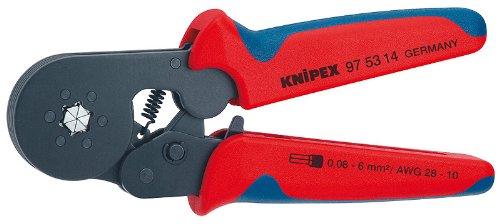 KNIPEX 97 53 14 Self-Adjusting Crimping Pliers