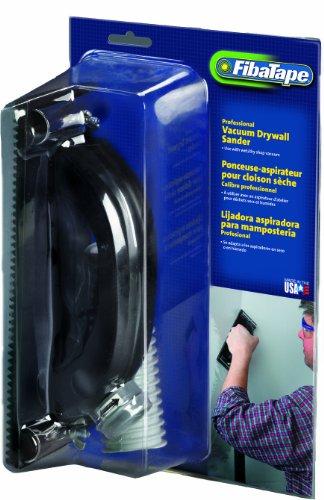 FibaTape FDW6600-U 3-14-Inch by 8-34-Inch Vacuum Hand Drywall Sander GrayBlack