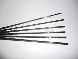 6 Dozen Half Gross No 5 Polar Skip Tooth Flying Dutchman Scroll Saw Blades 5