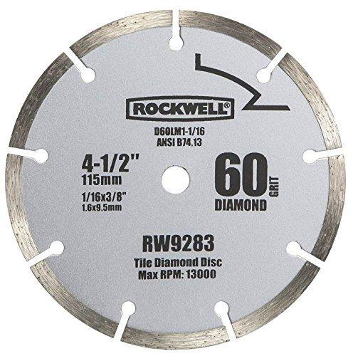 Rockwell RW9283 4 12-Inch 60-Grit Diamond Compact Circular Saw Blade