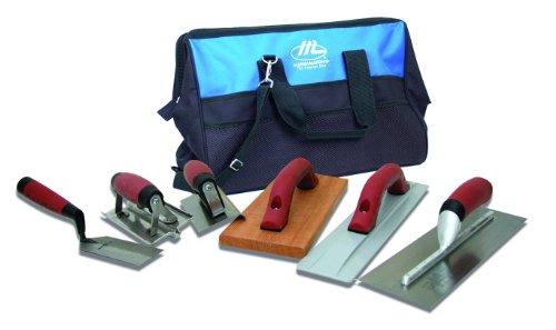 MARSHALLTOWN The Premier Line CTK3 Concrete Tool Kit with 20-Inch Nylon Tool Bag
