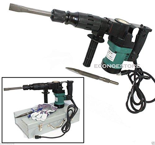 3000BPM 900W 1-12 Electric Demolition Hammer Concrete Breaker WChisels Bits