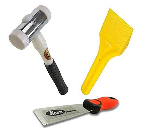 Virtual Plastics Glazing Kit - Xpert Chisel Glazing Paddle and Thor 712 Nylon Hammer by Virtual Plastics