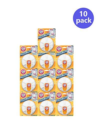 Arm Hammer Fridge Fresh Refrigerator Air Filter Pack of 10