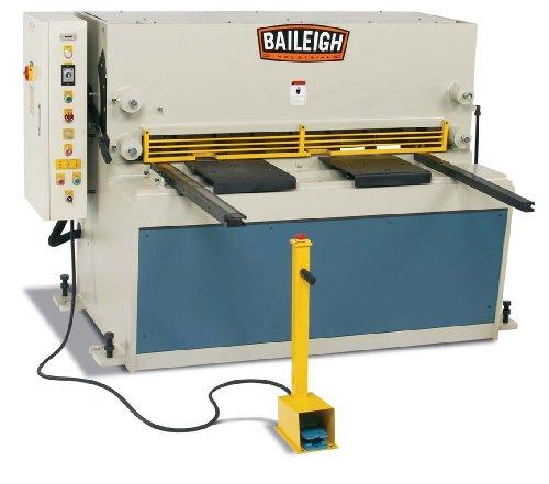Baileigh SH-5203-HD Heavy Duty Hydraulic Sheet Metal Power Shear 3-Phase 220V 15hp Motor 14 Mild Steel Capacity 52 Length