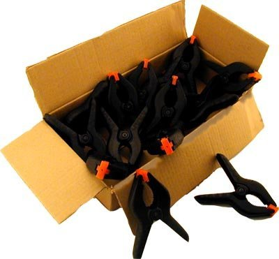 15 pc 6 12 Plastic Spring Clamp by PJ Tool Supply