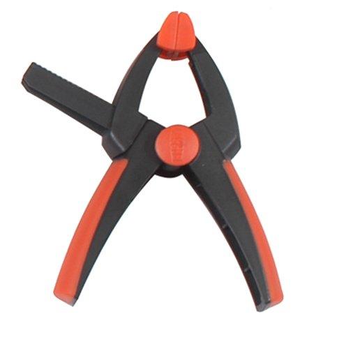 Bessey XV3-50 3-Inch VarioClippix Sliding Arm Plastic Spring Clamp